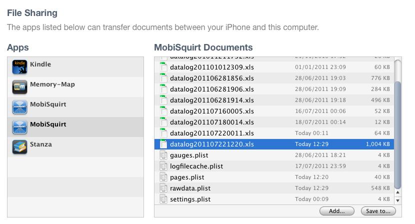 Transferring Files | MobiSquirt